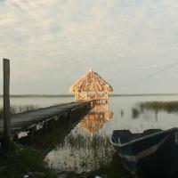 Arrivée au Guatemala, lac Peten Itza